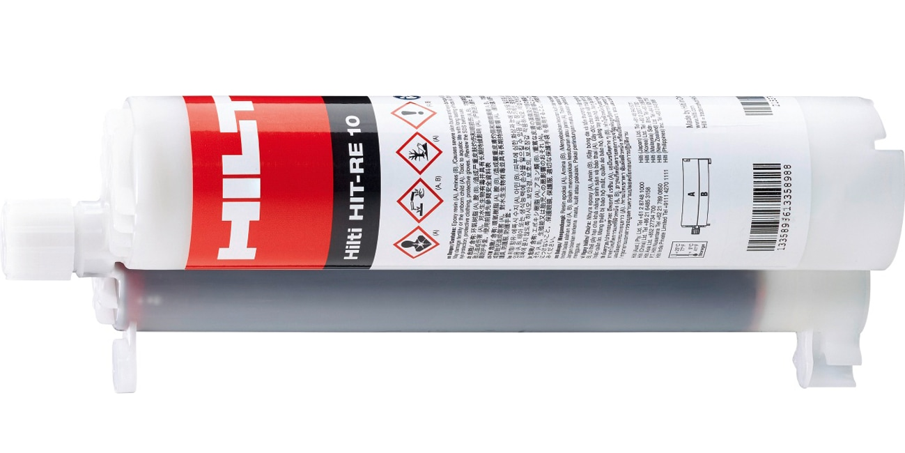 Hilti HIT-RE 10, 580 ml, injectable mortar