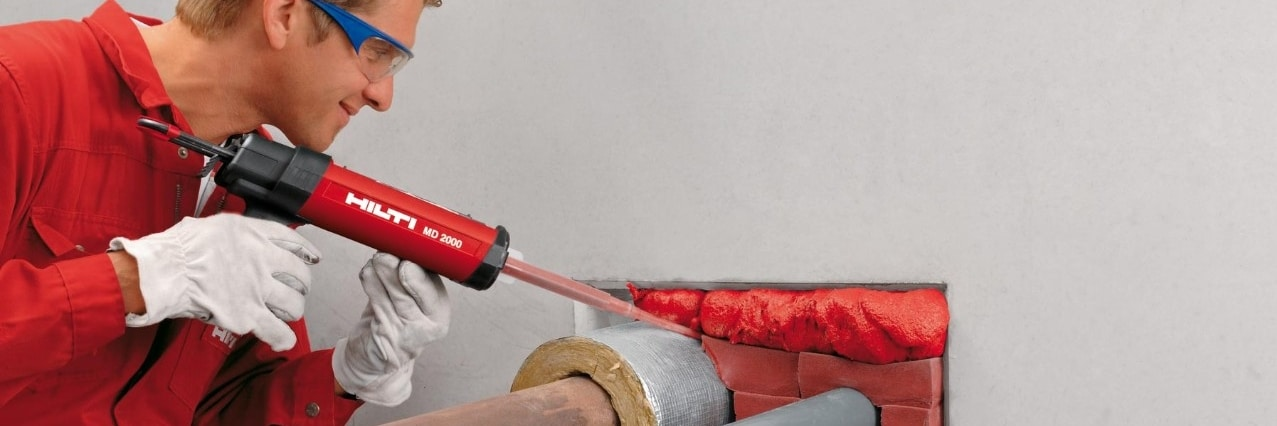 Hilti installers training for firestop